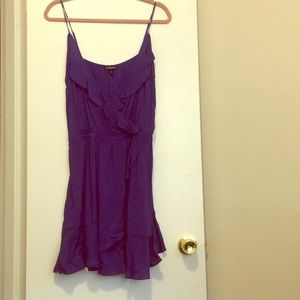 Express Riddle Dress in Royal Blue
